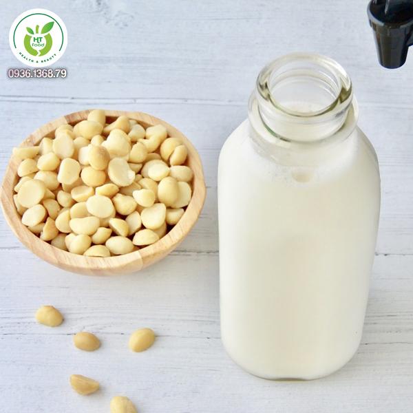 Sữa hạt mắc ca