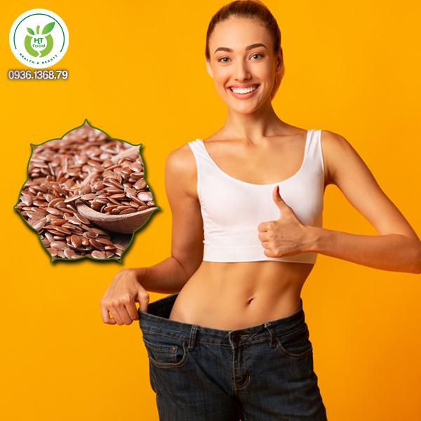 Vì sao hạt lanh có tác dụng giảm cân?